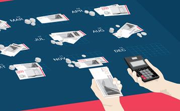 Låntyper   serielån, annuitetslån og stående lån